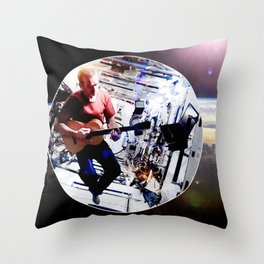 Space Oddity - ISS Chris Hadfield Throw Pillow