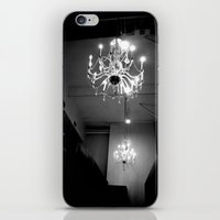 chandelier iPhone & iPod Skins featuring Chandelier by Kameron Elisabeth