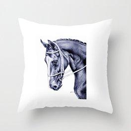 Nureyev (US) - Thoroughbred Throw Pillow