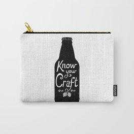 Know Your Craft Carry-All Pouch