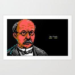 Max Planck Portrait. Art Print