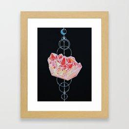 Cosmic Heart Framed Art Print