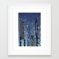 divergent Framed Art Prints featuring Divergent by Melissa Woodall