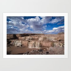 Grand Falls Art Print