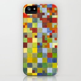 This Grid Is From Somewhere Within Me iPhone Case
