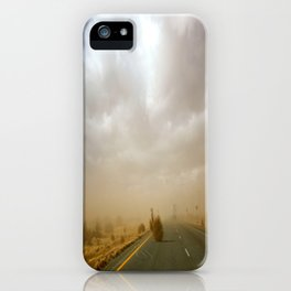 Dust Roll iPhone Case