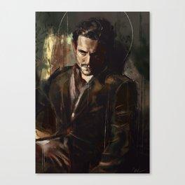 Sul fare della sera Canvas Print