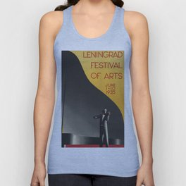 Leningrad Festival Of The Arts c.1935 Unisex Tank Top