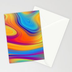 Colorful Abstracts 2 Stationery Cards