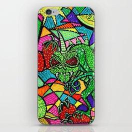 Chupacabra Loves Strawberry Melon iPhone Skin