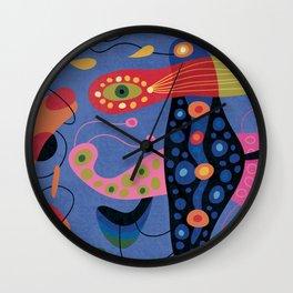 Wobbly New Year Wall Clock