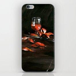Red Wine iPhone Skin
