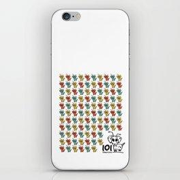 101 dalmartians iPhone Skin