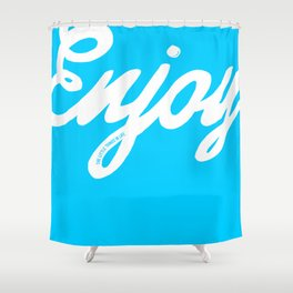 Enjoy the little things in life #eclecticart Shower Curtain