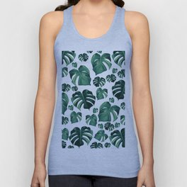 Tropical Monstera Pattern #3 #tropical #decor #art #society6 Unisex Tank Top
