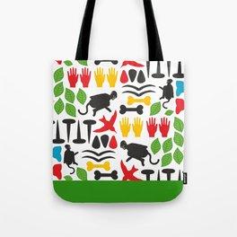 Frida Cutout Pattern Tote Bag
