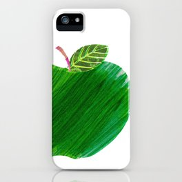 Green Apple iPhone Case