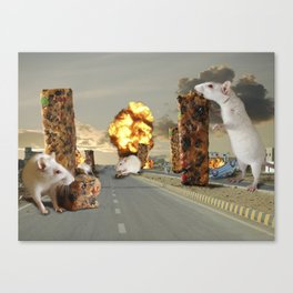 Infestation Canvas Print
