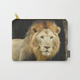 Lion the King of Beasts Carry-All Pouch