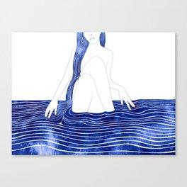 Nereid XXXIII Canvas Print