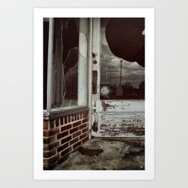 {another time, another town} Art Print