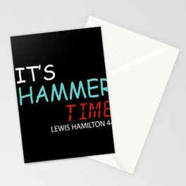 it is hammer time Stationery Cards