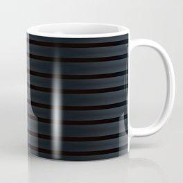 Black Silk Stripes Coffee Mug