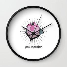 ton petit four Wall Clock