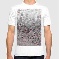 ::  Zinfandel Compote :: White Mens Fitted Tee MEDIUM