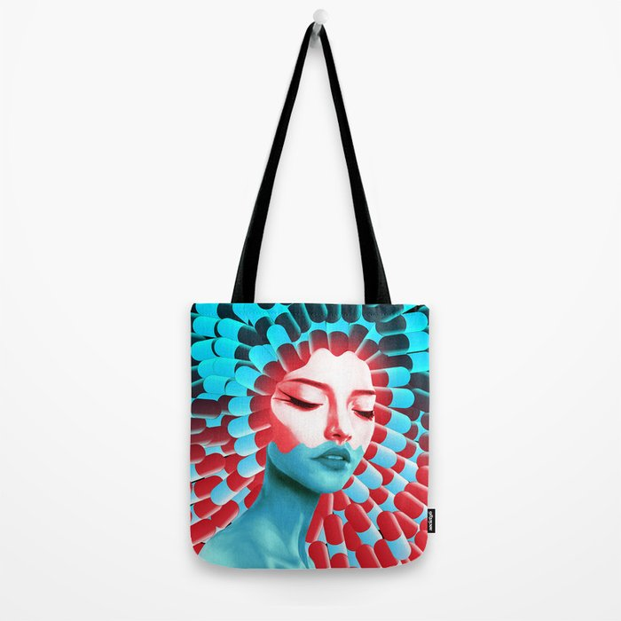 Blue pill, red pill? Tote Bag