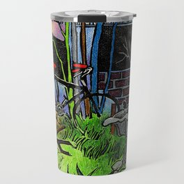 Springtime in the Courtyard Travel Mug