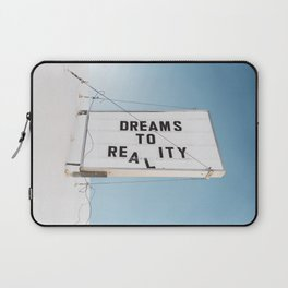 Dreams to Reality Laptop Sleeve