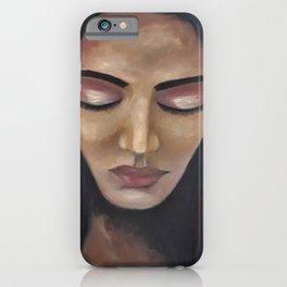 On My Mind by Lu iPhone Case
