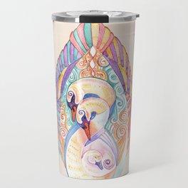 Swan Totem Travel Mug