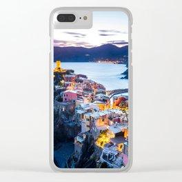 Cinque Terre #society6 #decor #buyart #homedecor Clear iPhone Case