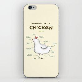 Anatomy of a Chicken iPhone Skin