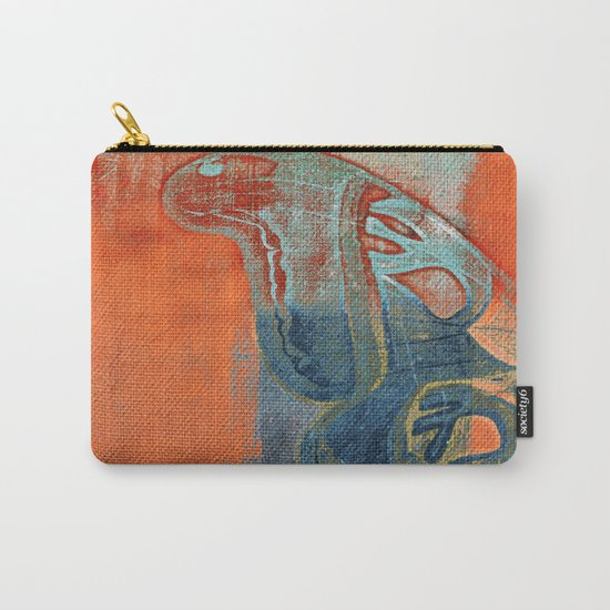 Moths 5  Carry-All Pouch