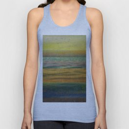 After the Sunset - Yellow Sky Unisex Tank Top