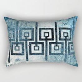 Order in Abstract III Rectangular Pillow