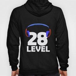 28th Birthday Gamer Video Game 28 Year Gaming Gift Hoody