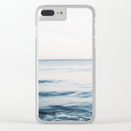 Tide Water Clear iPhone Case