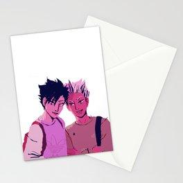 kuroo & bokuto  Stationery Cards