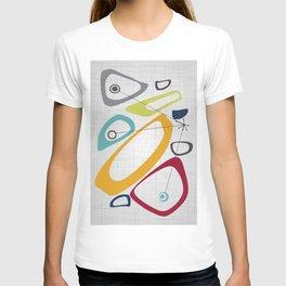Mid Century Modern Art T-shirt