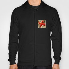 Sticker with UK flag Hoody