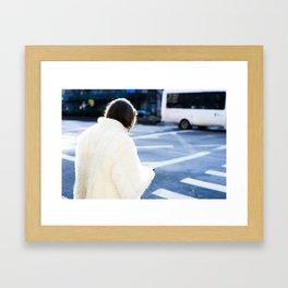 early AM in Bushwick Framed Art Print