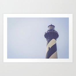 Cape Hatteras Lighthouse (2) Art Print