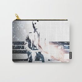 FORREST ON A BENCH & COSMOS Carry-All Pouch
