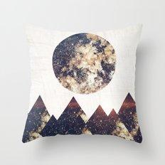 moon children Throw Pillow