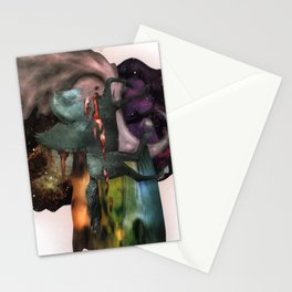Cosmic Dust | Collage Stationery Cards