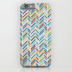 Herringbone Colour Slim Case iPhone 6